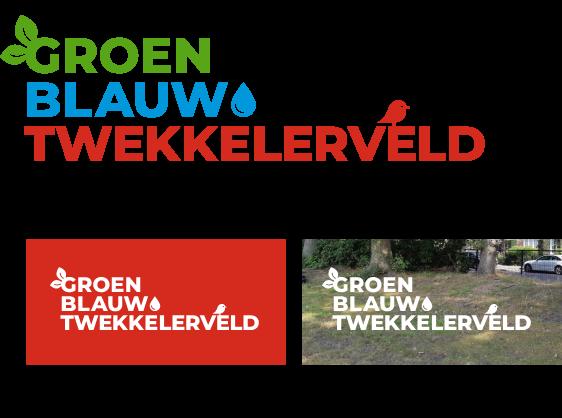 Projectlogo GroenBlauw Enschede