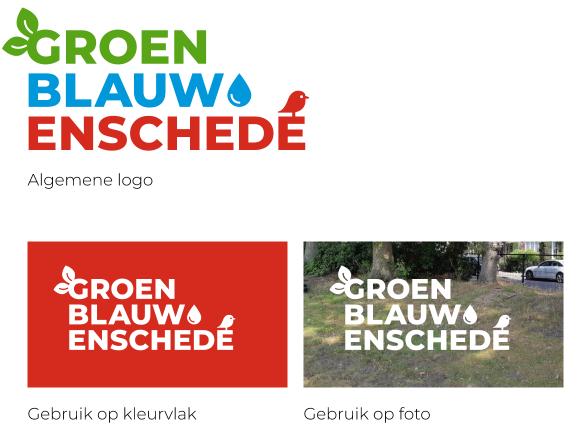 Algemeen logo van GroenBlauw Enschede