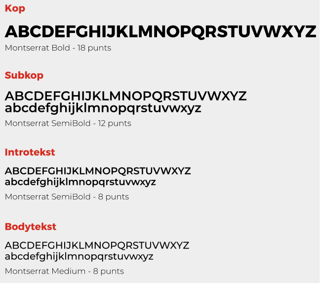 Lettertype GroenBlauw Enschede