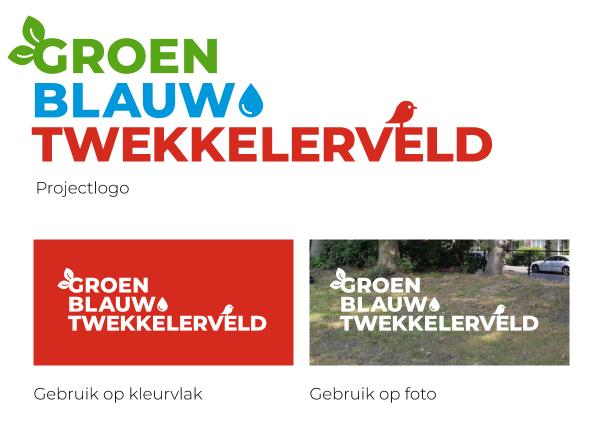 Projectlogo van GroenBlauw Enschede